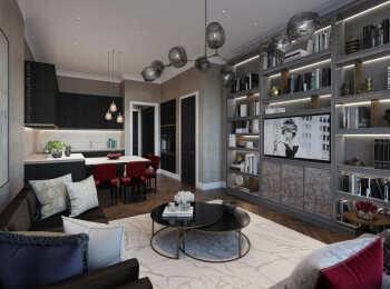 Пример оформления апартамента